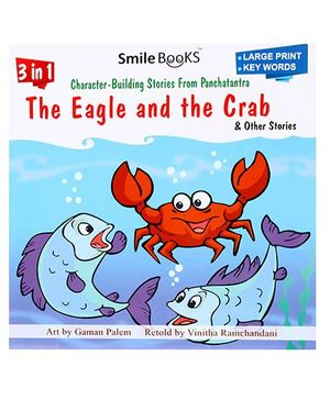 Smile Books 3 In 1 The Eagle And The Crab And Other Stories - English