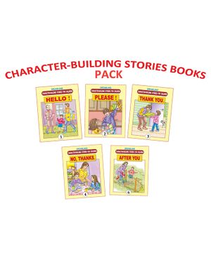 Dreamland Character Building Book English - Pack of 5