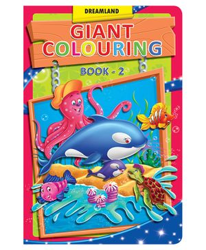Dreamland Book Giant Colouring 2 - English