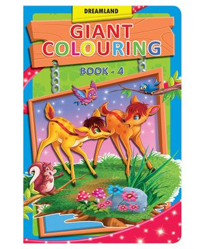 Dreamland Book Giant Colouring 4 - English