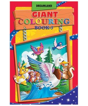 Giant Colouring 5 - English