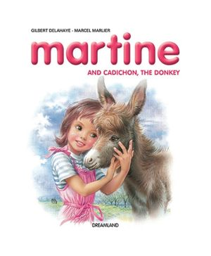 Dreamland Book Martine And Cadichon The Donkey - English