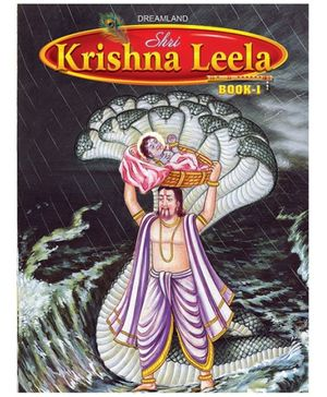 Dreamland Story Book Shri Krishan Leela Part 1 - English