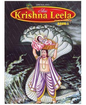 Dreamland Story Book Shri Krishan Leela Part 1 - English