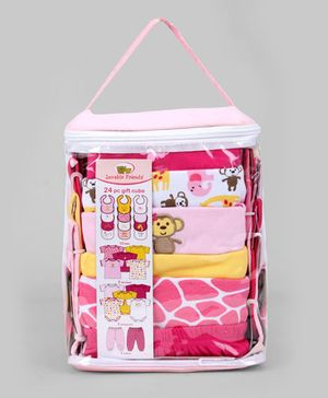 Pink 24 Piece Deluxe Gift Cube