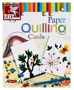 Toy Kraft Paper Quilling - Cards