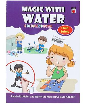 Apple Books Magic With Water Colouring Book - Child Safety