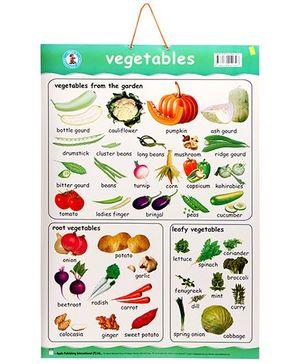 Apple Books Vegetables Chart - English