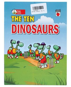 Apple Books Rhyme Story The Ten Dinosaurs - English