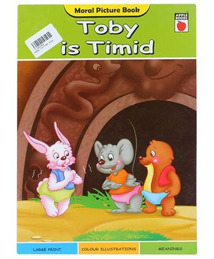 Apple Books Moral Picture Book Toby is Timid - English