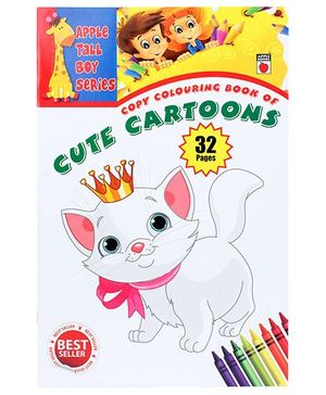 Apple Books Copy Colouring Book Of Cute Cartoons