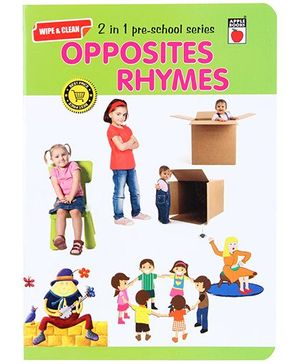 Apple Books Wipe And Clean - Opposites And Rhymes
