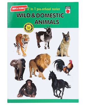 Apple Books Wipe And Clean Wild And Domestic Animals