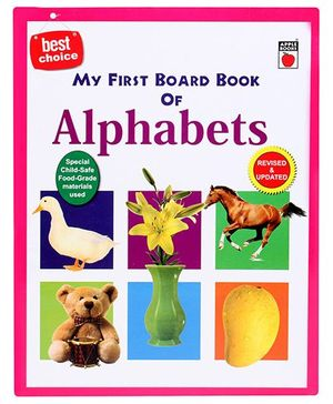 Apple Books My First Board Book - Alphabets