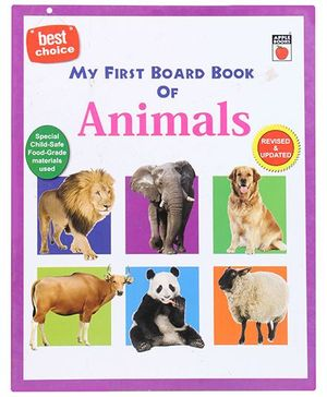 Apple Books My First Board Book - Animals