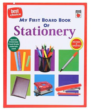Apple Books My First Board Book - Stationery