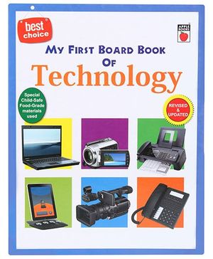Mr First Board Book - Technology (New)