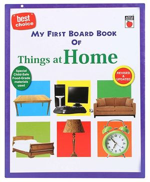 Apple Books My First Board Book -Things at Home