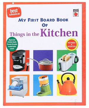 Apple Books My First Board Book - Things in My Kitchen