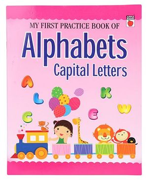 Apple Books My First Practice Book Capital Letters - English