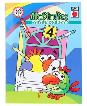 Apple Books McBirdies Colouring Book 4