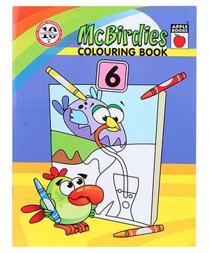 Apple Books McBirdies Colouring Book 6