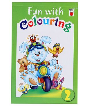 Fun With Colouring Level 2 Green - English