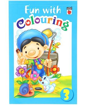 Apple Books Fun With Coloring Blue - English