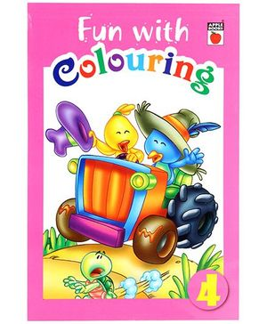 Apple Books Fun With Coloring Pink - English