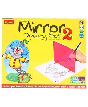 Buddyz Magic Mirror Drawing Set 2