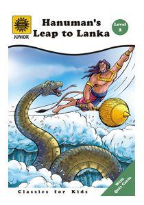 Amar Chitra Katha - Hanumans Leap To Lanka