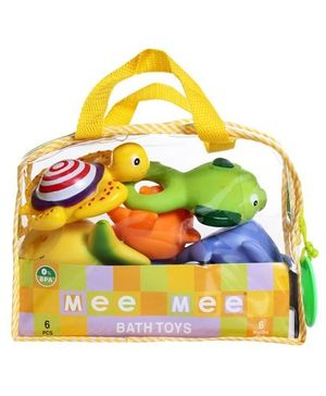 Mee Mee Bath Toys - Set Of 5