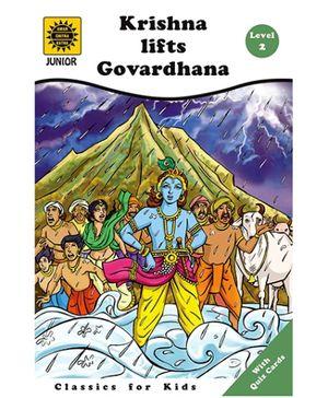 Amar Chitra Katha - Krishna Lifts Govardhana