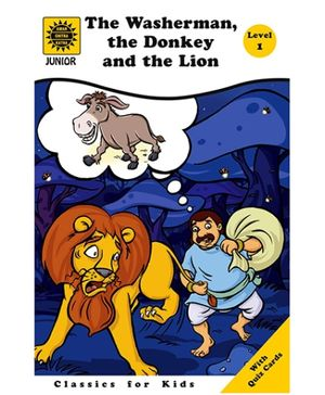Amar Chitra Katha - The Washerman The Donkey And The Lion