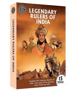 Amar Chitra Katha Legendary Rulers Of India - English