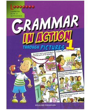 Scholastic Grammar In Action Through Picture 1 Book - English