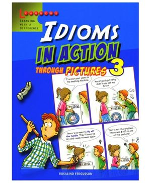 Scholastic Idioms In Action Through Picture 3 Book - English