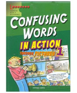 Scholastic Confusing Words In Action Through Picture 1 Book - English