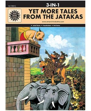 Amar Chitra Katha - Yet More Tales From The Jatakas