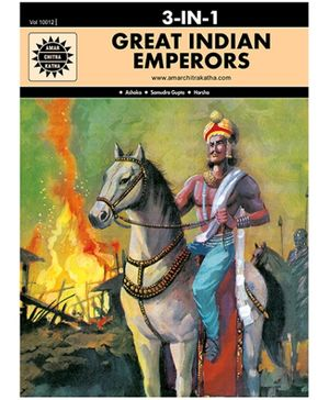 Amar Chitra Katha - Great Indian Emperors