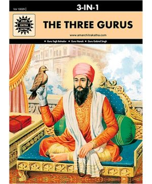 Amar Chitra Katha - The Three Gurus