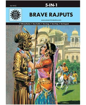 Amar Chitra Katha - Brave Rajputs