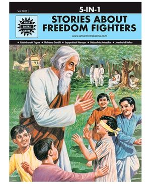 Amar Chitra Katha - Stories About Freedom Fighters