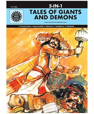 Amar Chitra Katha Tales of Giants And Demons