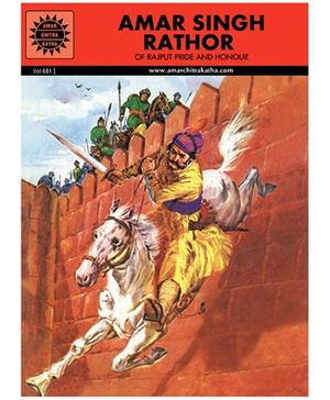 Amar Chitra Katha Amar Singh Rathor