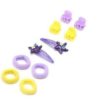 Addon Hair Accessories Combo Set - Pack Of 5