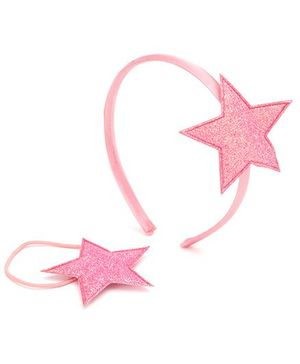 Addon Hair Band With Rubber Band - Star Applique