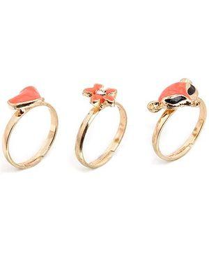 Addon Finger Rings - Set Of 3