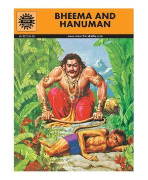 Amar Chitra Katha Bheema And Hanuman