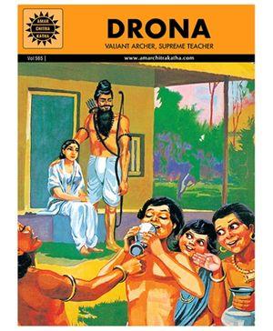Amar Chitra Katha Drona - English